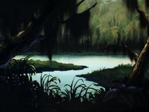 Louisiana bayou (Zombie Island)