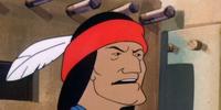 Indian chief (The Quagmire Quake Caper)