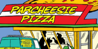 Parcheesie Pizza