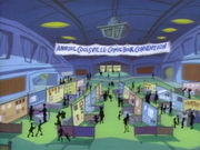 Inside Coolsville Comic Book Convention