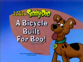 A Bicycle Built for Boo! title card