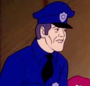 Police officer (Vampire Bats and Scaredy Cats)