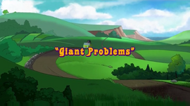 Giant Problems title card
