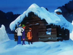 Jeremiah Pratt's cabin