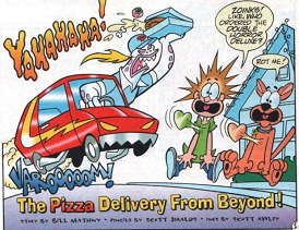 The Pizza Delivery From Beyond!