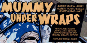 Mummy Under Wraps title card