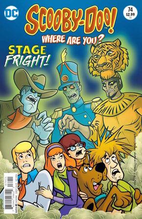 WAY 74 (DC Comics) cover