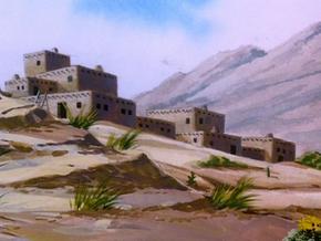Indian village (The Quagmire Quake Caper)