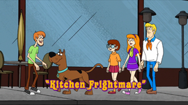 Kitchen Frightmare title card