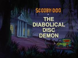 The Diabolical Disc Demon title card