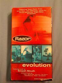 Razor Evolution VHS Front