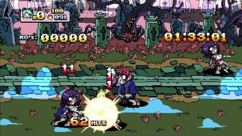 Scott Pilgrim vs. The World Gameplay - Zombie Hater