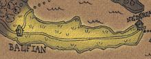 Bitter plains map