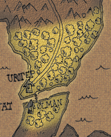 Woods of urtep map