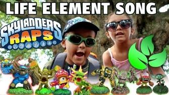 The LIFE ELEMENT Song (Skylanders Raps) 200th Video