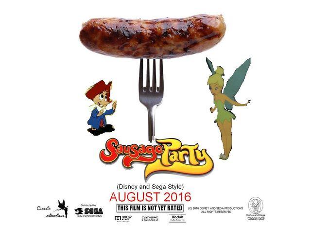 File:Sausage Party (Disney and Sega Style) Poster.jpg