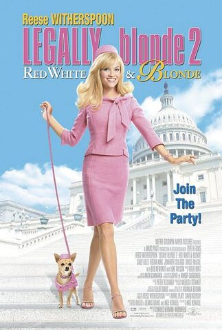 File:2003 - Legally Blonde 2 - Red, White & Blonde Movie Poster.jpg