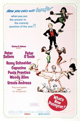 File:1965 - What's New, Pussycat Movie Poster 1.jpg