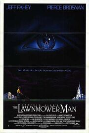 1992 - The Lawnmower Man Movie Poster