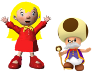 Mary and Toadsworth