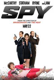 2015 - Spy Movie Poster