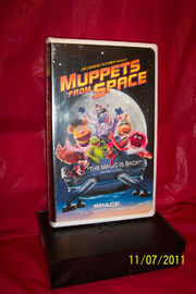 Muppets From Space VHS Tape
