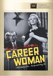 1936 - Career Woman DVD Cover (2012 Fox Cinema Archives)
