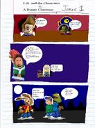 A Bunny Christmas Comic Jokes Page 1