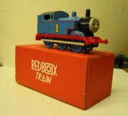 Red box train thomas
