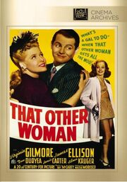 1942 - That Other Woman DVD Cover (2014 Fox Cinema Archives)