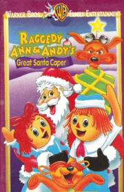 Raggedy ann and andy great santa caper wbfe vhs