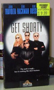Get Shorty VHS