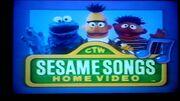 Sesame Songs Home Video Logo 1990s