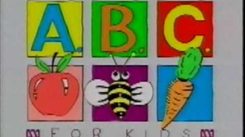 ABC For Kids Promotion (From Spooks And Surprises VHS)