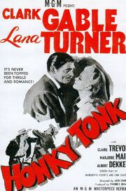1941 - Honky Tonk Movie Poster