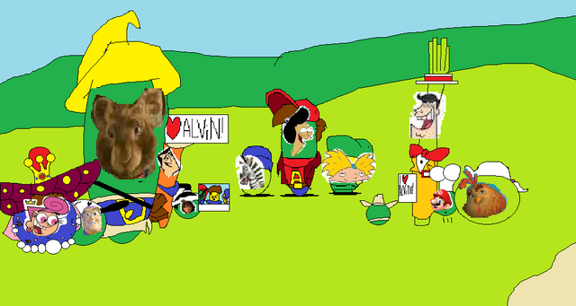 File:Cartoon characters and the Cartoon Munks.png