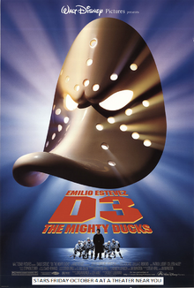 D3 The Mighty Ducks (1996) Poster