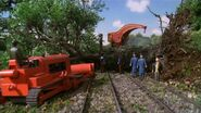 Harvey and Terence removing a tree