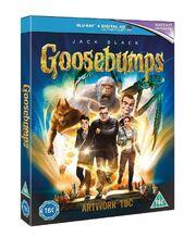 Goosebumps UK DVD (2016) - Artwork TBC