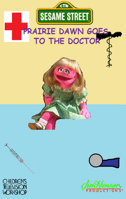 Prairie Dawn Goes to the Doctor Cover