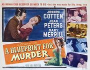 1953 - A Blueprint for Murder Movie Poster 2