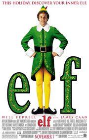 2003 - Elf Movie Poster
