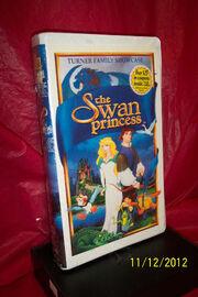 Swan Princess 1995 VHS