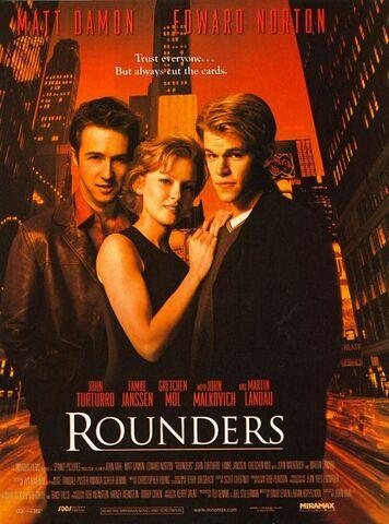 File:1998 - Rounders Movie Poster.jpg