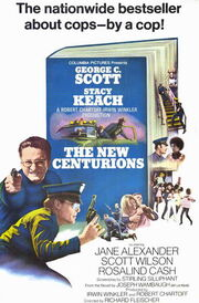 1972 - The New Centurions Movie Poster