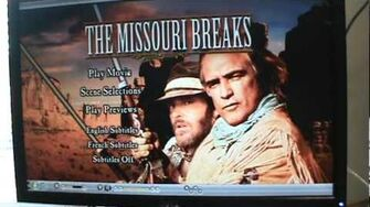 Opening to The Missouri Breaks 2005 DVD