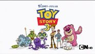 MAD (2010) - Toy Story 3 logo With Characters