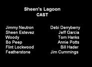 Sheen's lagoon cast