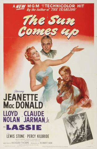 File:1949 - The Sun Comes Up Movie Poster.jpg