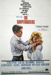 1964 - The Carpetbaggers Movie Poster